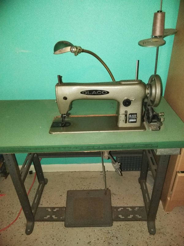Glaco Model 4040 Industrial Sewing Machine For Sale In Mesquite TX Amazing Glaco Industrial Sewing Machine