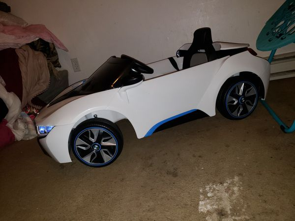 bmw power wheels used once still like new $150obo for sale in