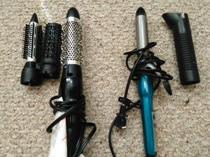 Volumizing hot air brush and curling iron for Sale in Rolla, MO