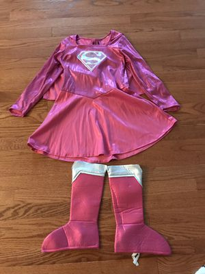 Supergirl Halloween costume size 8-10 girl for Sale in Bristow, VA