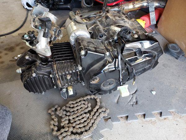 Honda grom engine 2k miles