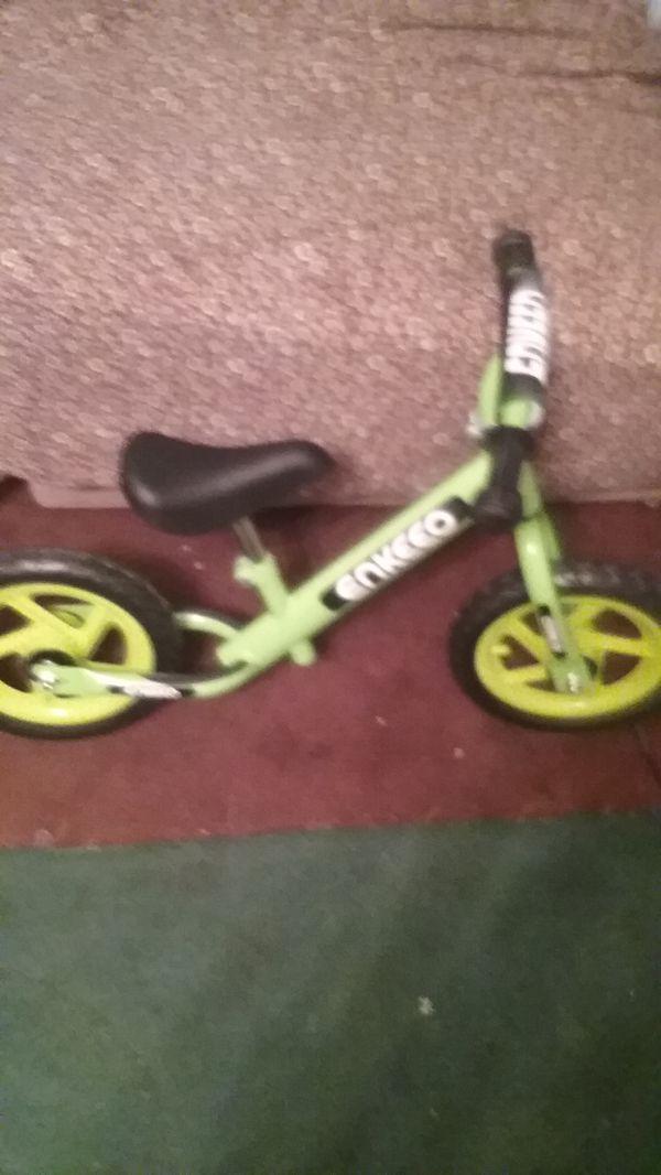 fcc86df7d79 Enkeeo 12 sport Balance Bike no pedal for Sale in Modesto, CA - OfferUp
