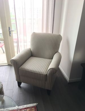 Moving sale - sofa chair, like new, pet free, smoke free for Sale in West McLean, VA