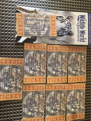 Wild life zoo tickets for Sale in Avondale, AZ