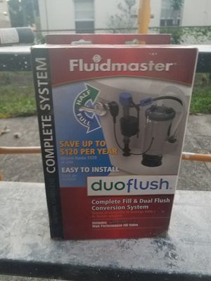 Duaflush complete fill and dual flush conversion system for Sale in Tampa, FL