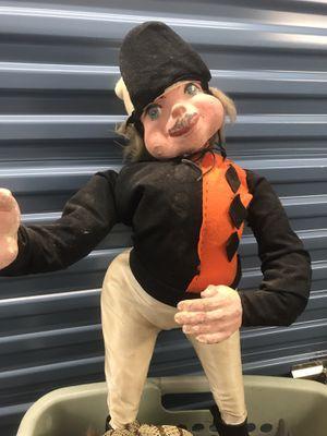 Antique plaster jockey doll for Sale in Virginia Beach, VA