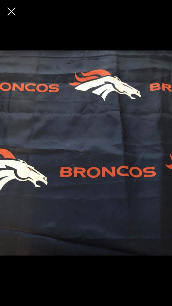 Denver Broncos Shower Curtain For In Raleigh Nc Offerup