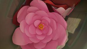 Big pink paper flower for Sale in Phoenix, AZ