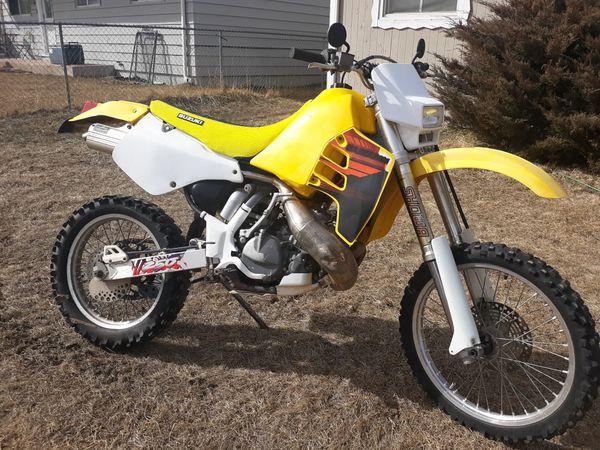 1995 suzuki rmx 250 ( street legal )