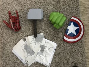 Superhero 3D wall lights- never hung up for Sale in Newton, MA