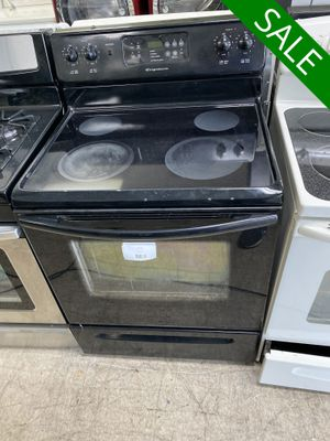Photo 😍😍Electric Stove Oven Frigidaire Black Stainless Steel #957😍😍