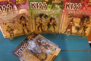 """Set of 4 Todd McFarlane """"Kiss - Psycho Circus"""" Figures for Sale in Austin, TX"""