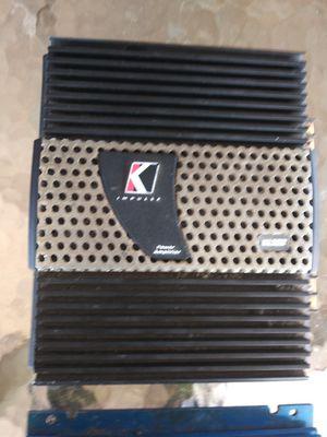 Photo Kicker IX 252 sub amp