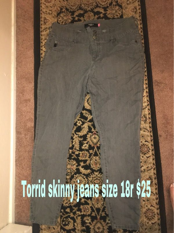 6f80a2e2db6 Torrid skinny jeans size 18r for Sale in Hayward