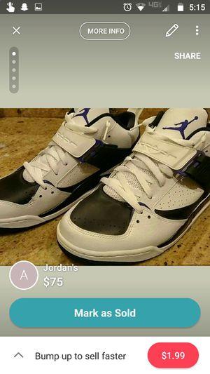 Jordan's - Size 10.5 for Sale in Verona, VA