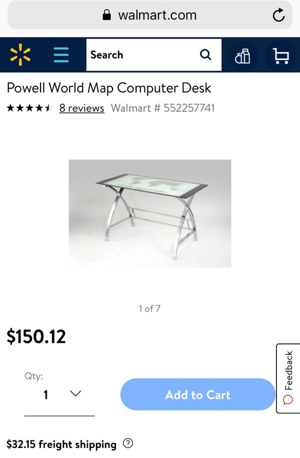 World map glassmetal desk with chair for sale in upland ca offerup 100 gumiabroncs Gallery