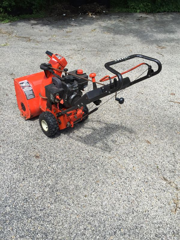 Ariens ST420 Snow thrower electric start Self propelled for Sale in  Wauconda, IL - OfferUp