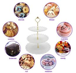 Wow Everyone With This 3-Tier Cupcake/Dessert Stand For Any Occasion!  Thumbnail
