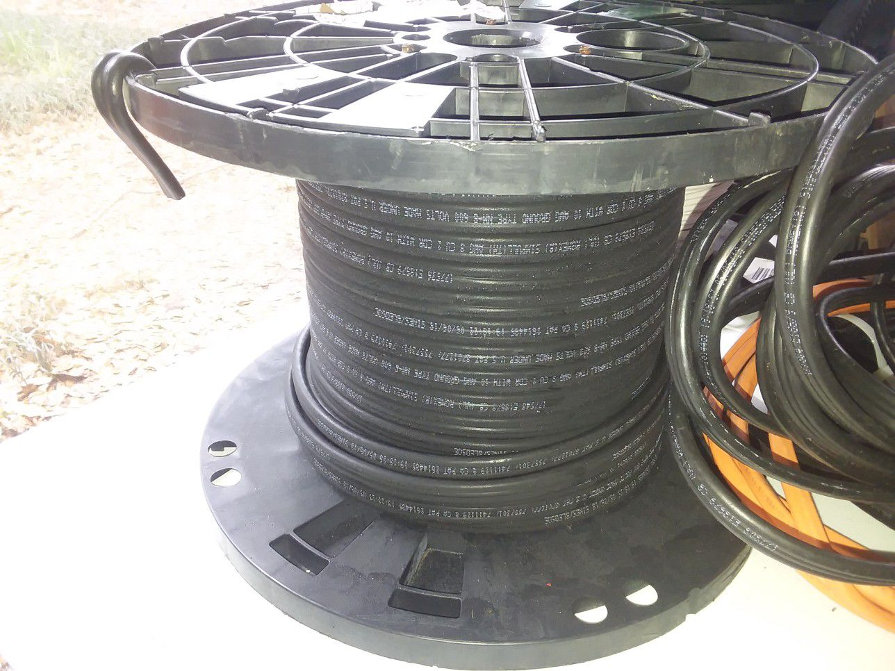6 gauge singles and 8/2 wire