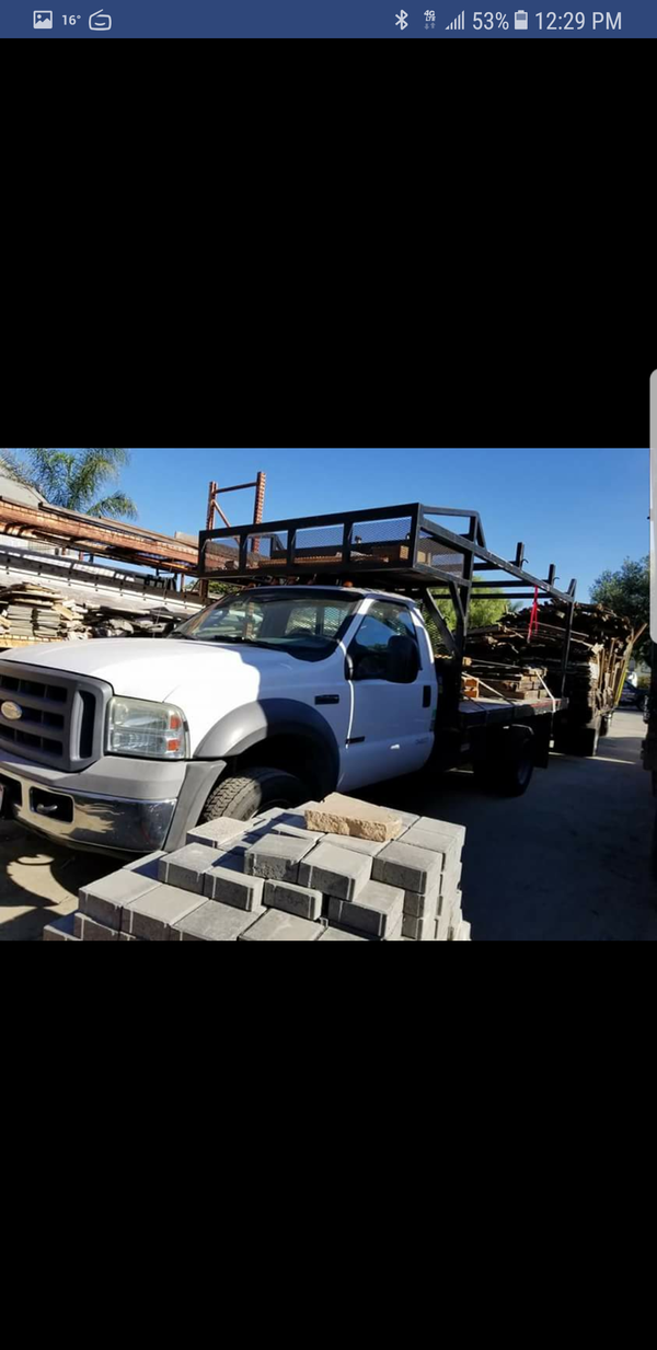 I\'m selling my 2005 Ford F550 diesel utility truck runs and drives ...