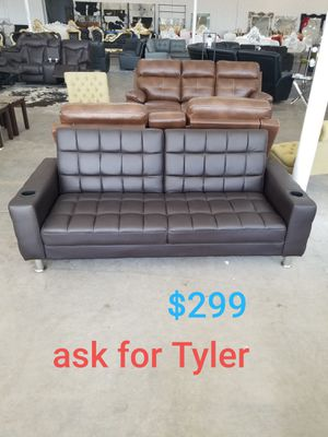 Brand New Leather Sofa Bed Futon For In Dallas Tx