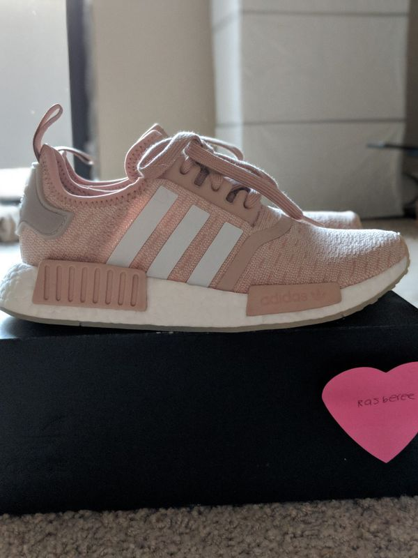 best sneakers 4a3e2 eea0c Adidas NMD R1 Runner W Nomad Women's Ash Pearl Chalk Pink size 6.5 ...