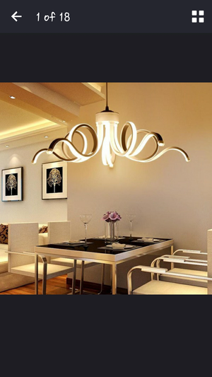 LED Modern snail style fixture & installation for Sale in Philadelphia, PA
