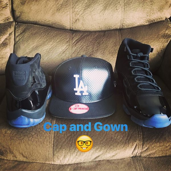 watch d60c3 34b6d Cap and Gown Jordan 11 Retro with Footlocker receipt size 10.5 for Sale in  Mountain View, CA - OfferUp
