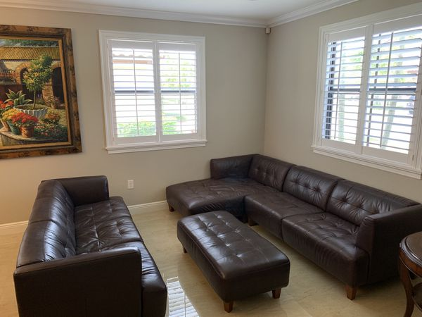 Superb Brown Leather Sofa Set From Macys For Sale In Miami Fl Offerup Spiritservingveterans Wood Chair Design Ideas Spiritservingveteransorg