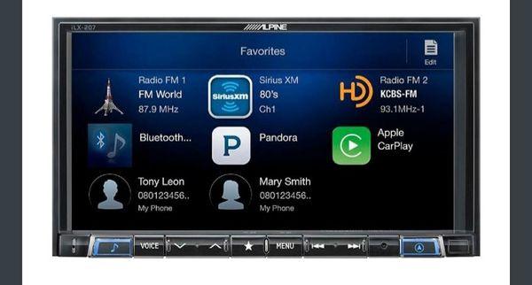 Alpine Android Autoapple Carplay With Sirius Xm Tuner Black Model
