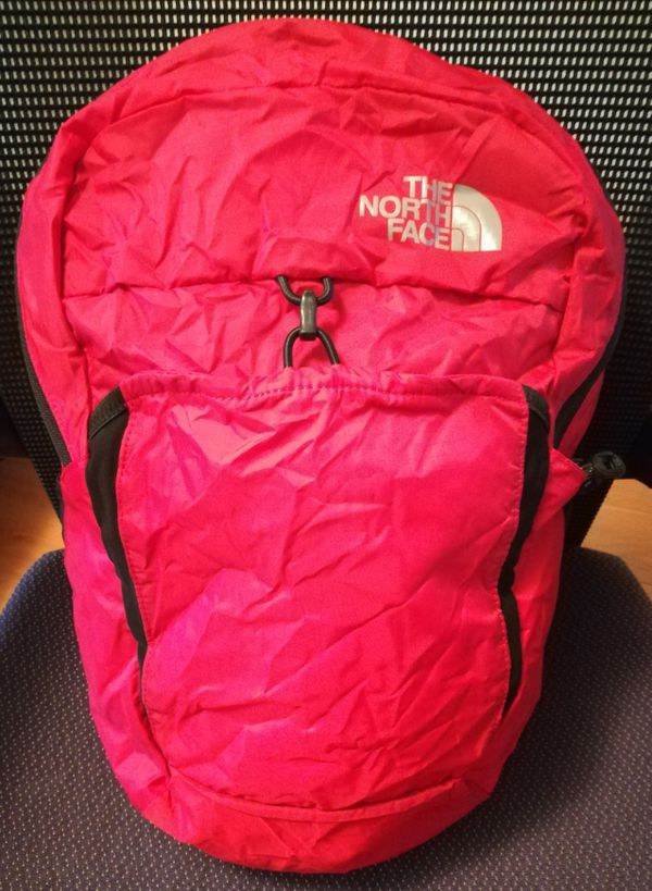af191251a5f The North Face Flyweight Packable Backpack 17L - New in red for Sale ...