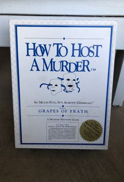 How to host a murder board game Thumbnail