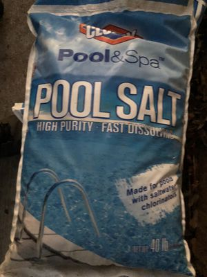 Pool and spa salt. for Sale in Baton Rouge, LA