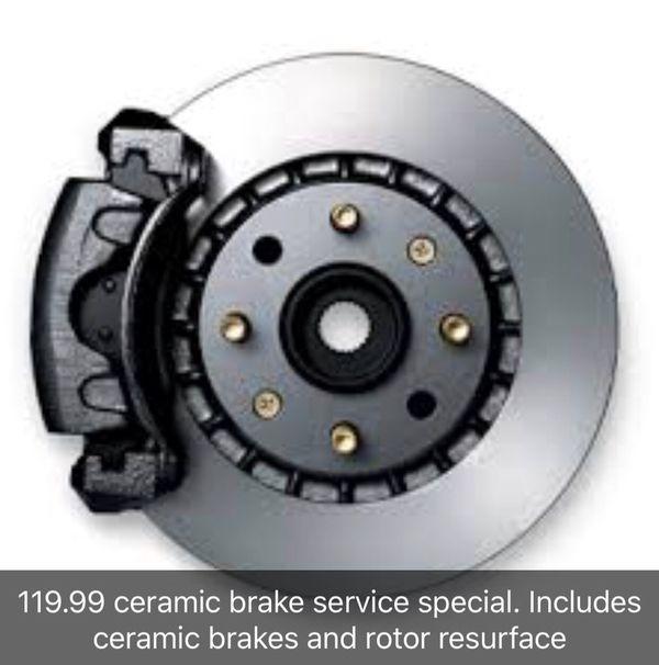 11999 Ceramic Brake Service Special