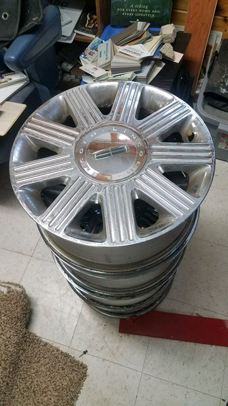18 Inch Rims For Lincoln Town Car