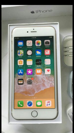 IPhone 6 Plus,, Factory Unlocked, Excellent condition. (Almost New) for Sale in Springfield, VA
