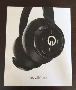 Muzik One WIRELESS BLUETOOTH Headphones for Sale in Los Angeles, CA