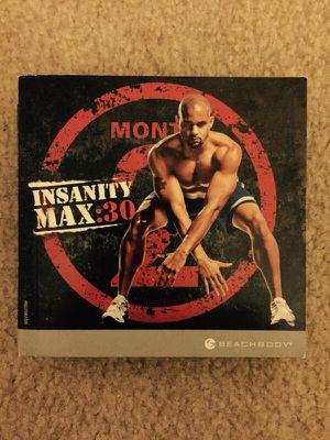 Insanity MAX 30 for Sale in Alexandria, VA