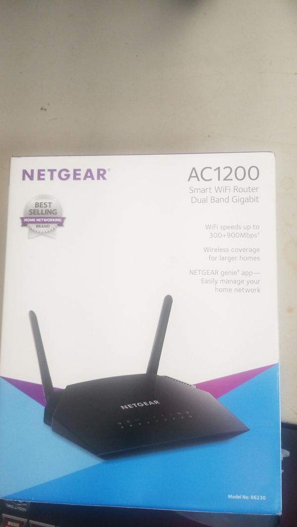 Netgear AC1200 smart wifi router dual band gigabit for Sale in Sacramento,  CA - OfferUp
