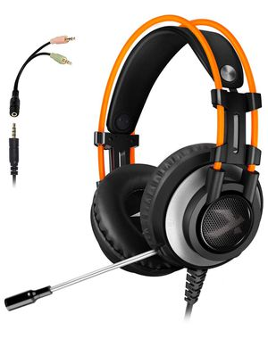 ArkarTech K9 Gaming Headset for Xbox One PS4 PC, Noise Canceling Over Ear Headphones with mic, Stereo Bass Surround for Laptop, Smartphones, Nintendo for Sale in Bessemer, AL