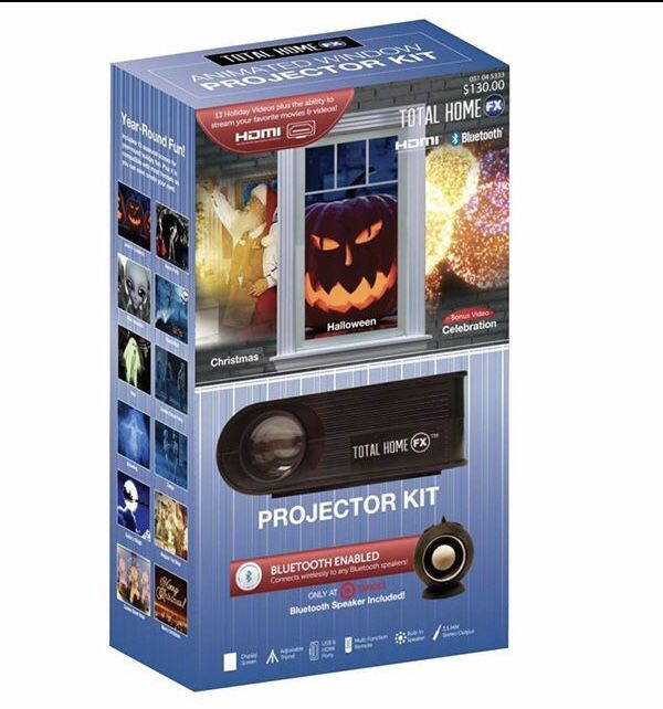 Bluetooth Enabled Holiday Projection Kit