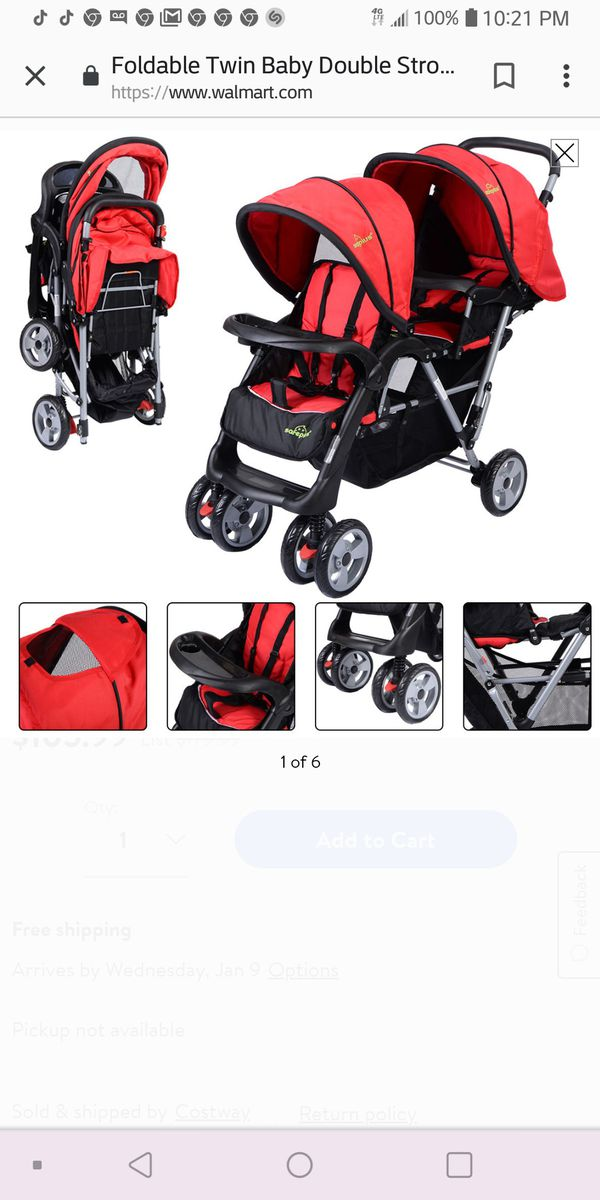 Buy Buy Baby Double Stroller For Sale In Blackwood Nj Offerup
