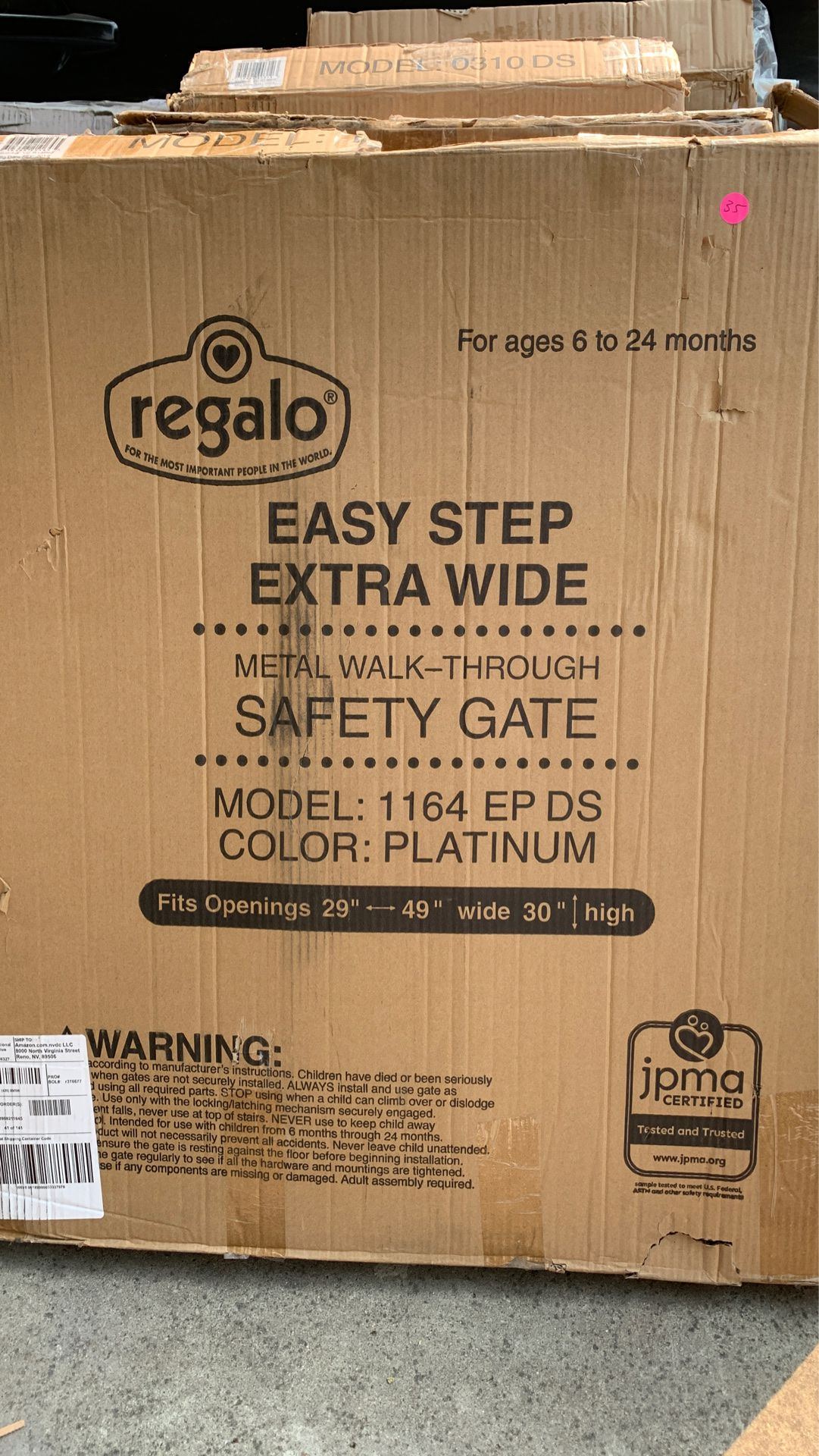 Regalo Easy Step Extra Wide