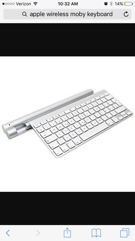 Apple wireless keyboard with chargeable for Sale in Vallejo, CA - OfferUp