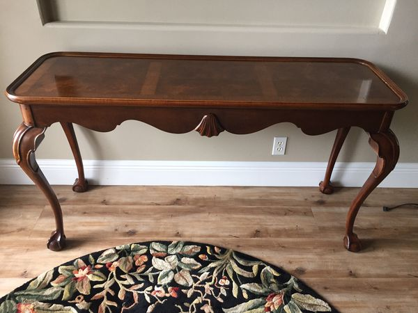 Incredible Antique Claw Foot Sofa Table For Sale In Palm City Fl Offerup Theyellowbook Wood Chair Design Ideas Theyellowbookinfo