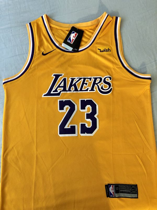fcb5580ddfdf Lebron James Laker Jersey Brand New Size Men s Large XL for Sale ...