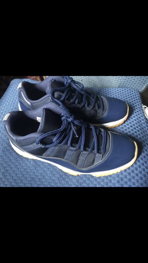 cbd30231e12 Nike Air Jordan 11 Gum Navy Low Size 9. Excellent condition for Sale in San  Leandro, CA - OfferUp