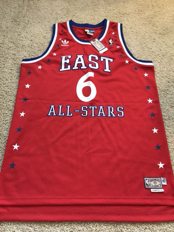 100% authentic a47df 6e8ca New Julius Erving Dr. J All Star Jersey for Sale in Irvine, CA - OfferUp