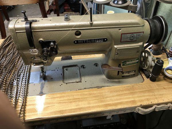 Mitsubishi Walking Foot Sewing Machine DU40 For Sale In Vallejo Unique Mitsubishi Sewing Machine For Sale