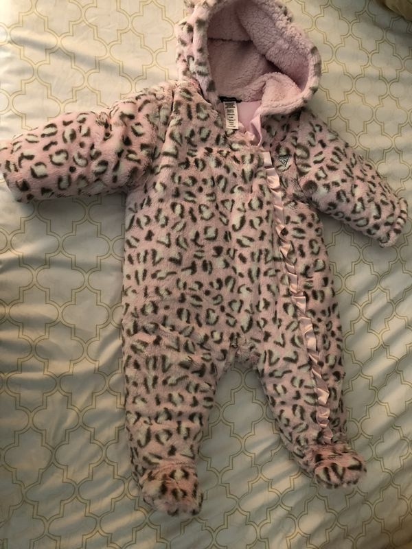 e15bb87b6a2e Guess baby girl snow suit new without tag 3-6 months for Sale in ...
